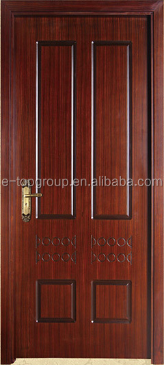 E Top Door Provincial 4 Panel Primed Moulded Solid Core Wood Grain Texture Interior Doors