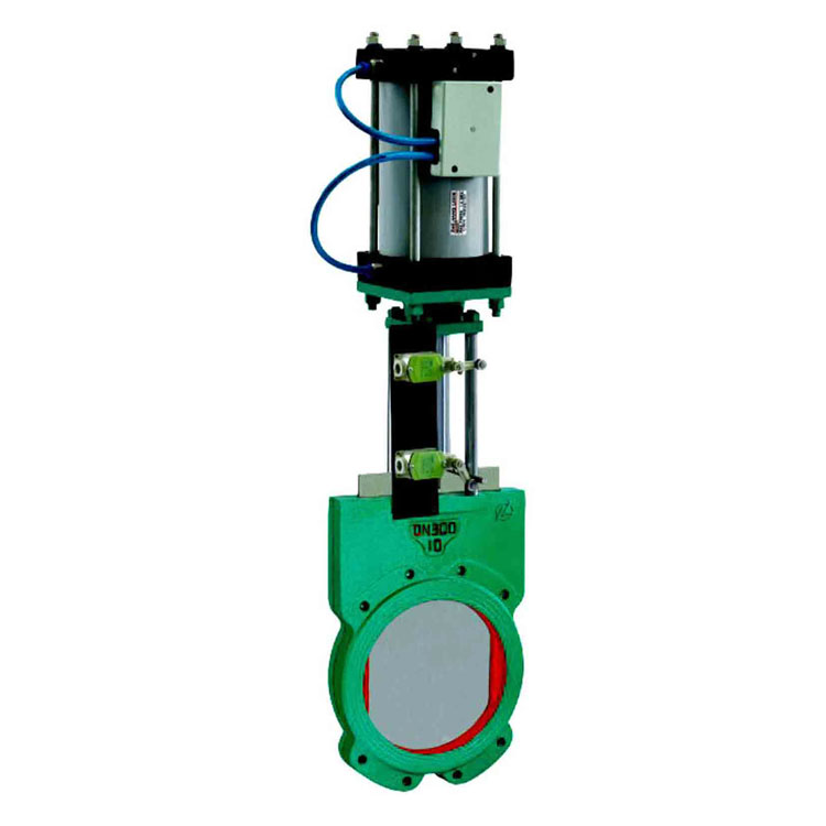 China made low price pneumatic single acting on/off gate valve