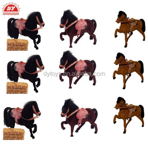 Shenzhen Toy Factory 2014 Novelty Toy Flocked Horse