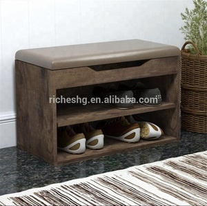 utility design wooden custom made shoe cabinet