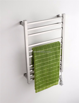 bathroom ladder towel rack electric heated drying rack towel warmer 9005s - Towel Warmer Rack