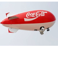 Fast deliver helium blimp for sale,inflatable blimp for sale,airship blow up for adversting