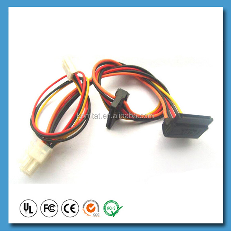 Power supply 4 pin wire harness wiring harness supplies, wiring harness supplies suppliers and diy wiring harness supplies at crackthecode.co