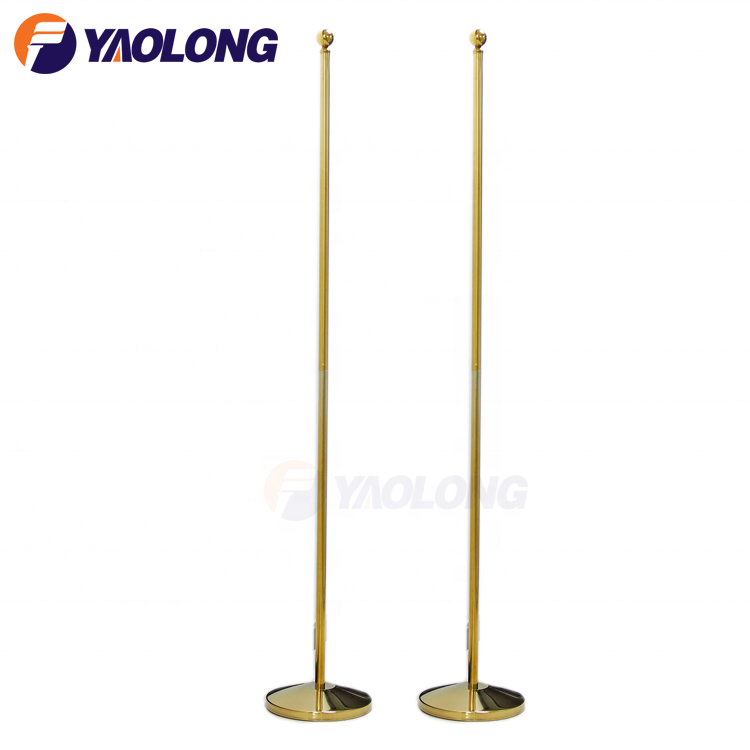 Indoor Office Flag Poles And Stand