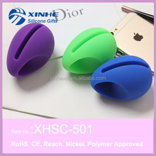 New Acoustic Silicone Egg Shape Holder Speaker For Apple iPhone 3GS 4GS