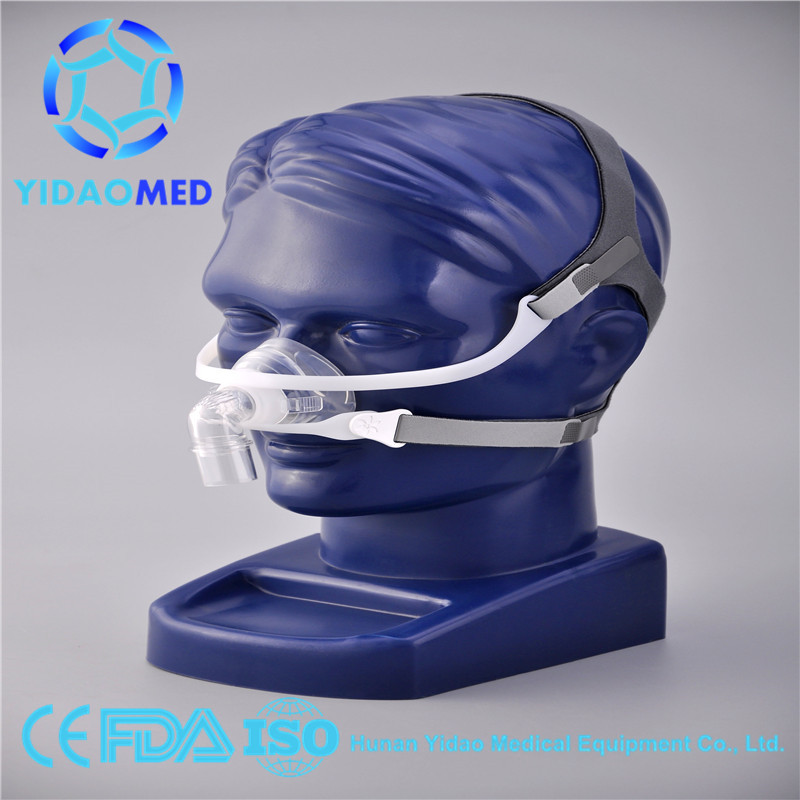 Portable CPAP Nasal Mask for Sleep Apnea