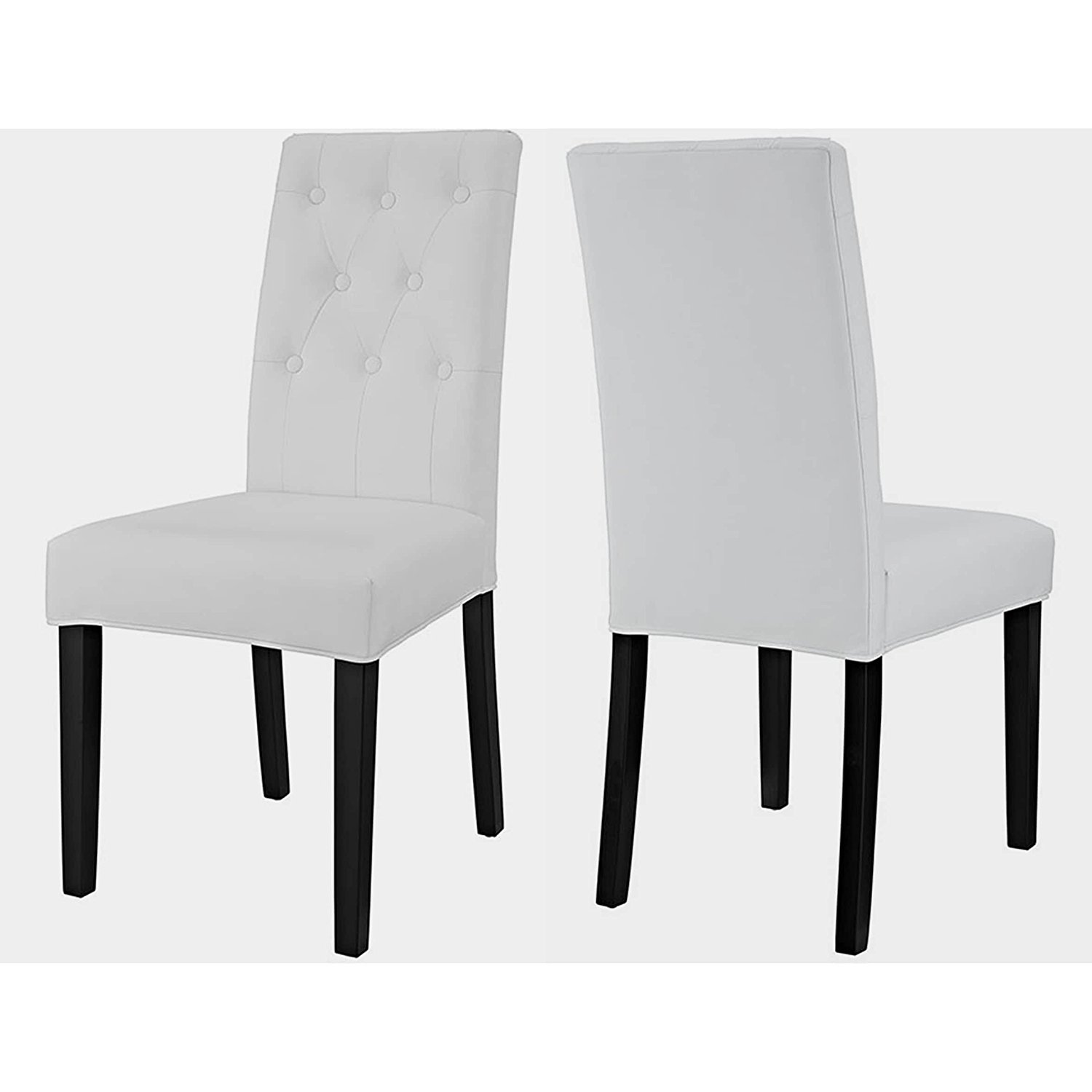 Cheap White Tufted Dining Chair Find White Tufted Dining