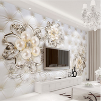 Custom 3D Decorative Removable Wedding House Wall Decal Mural