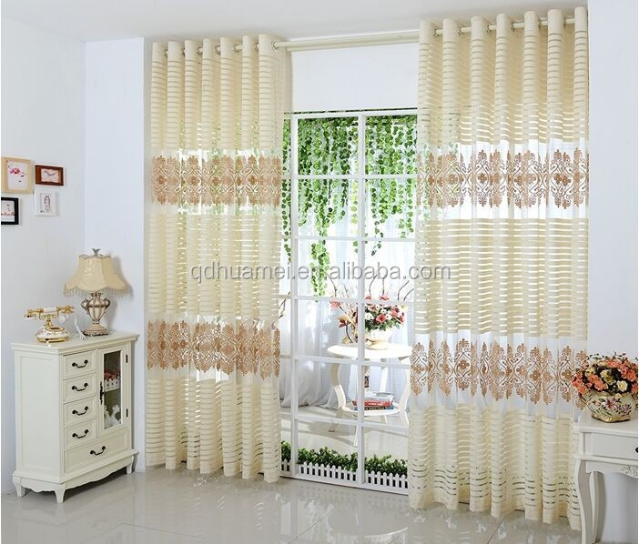 Window Drapery Curtain, embroidery curtain
