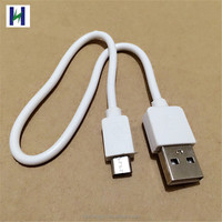 Shenzhen OEM factory low price 30cm short Micro USB Cable for mobiles