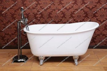 Deep Cast Iron Bath Tub, Claw Foot Baby Bath Tub, Baby Freestanding Bathtub
