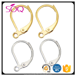 Wholesale High Quality Non-allergenic Stainless Steel Ear Hook to Make Earring