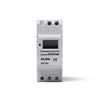 ALION Din Rail Weekly Timer, AHC15A Programmable Digital Time Switch