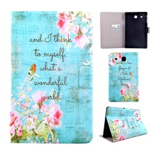 50pcs/lot Free shipping Pencil love cards Accessories leather tablet cover case for samsung galaxy Tab E 8.0 T377 T377V covers