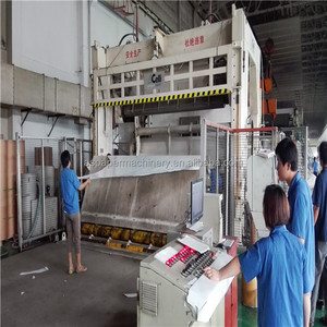 Used Rice straw produce toilet tissue paper making machine papermaking machinery