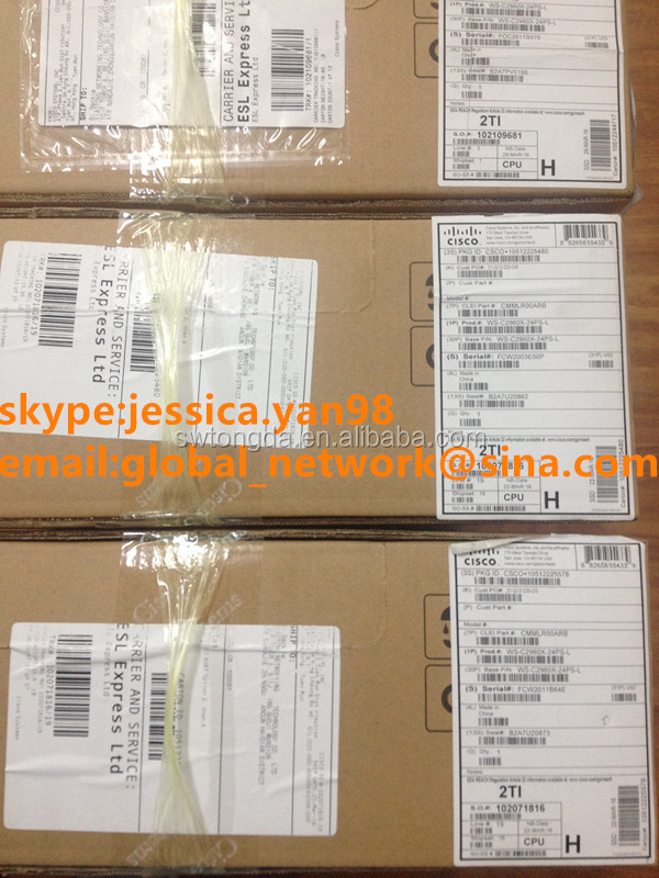 cisco 24 port poe multilayer switch WS-C2960X-24PS-L