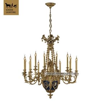 Hotel brass incandescent luminaire antique brass chandelier hotel brass incandescent luminaire antique brass chandelier kroonluchter lighting chandelier mozeypictures Choice Image