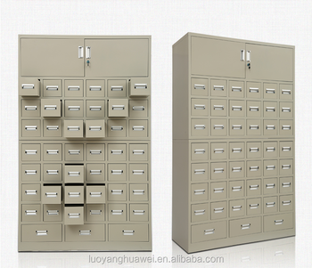 Multi Drawers Steel Medicine Cabinets