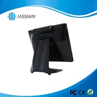15 inch Android system pos all in one integrated scanner with NFC, MRS, IC Reader