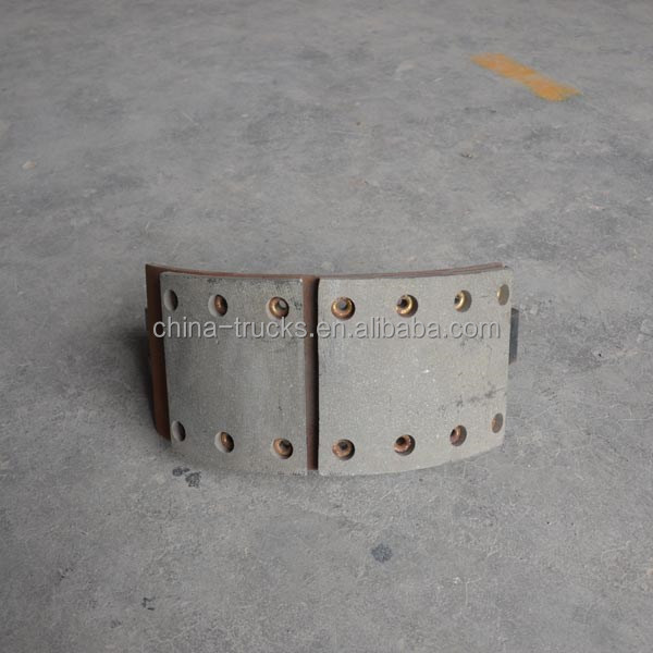 FAW truck parts parts brake shoes