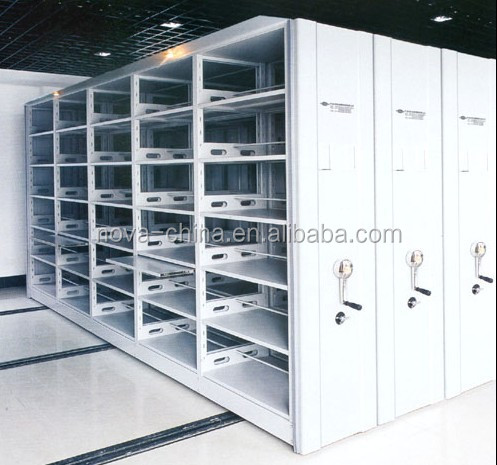 Modern knock down steel school furniture used library shelving