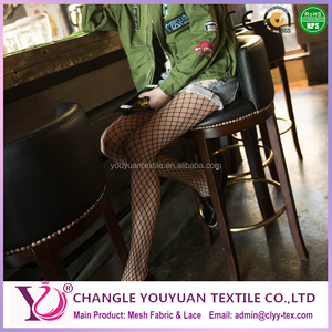 2017 fashion fishnet leggings spandex mesh fabric