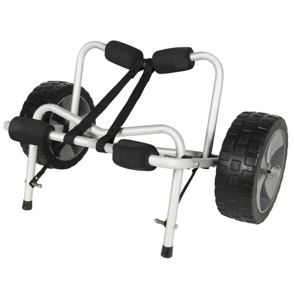 Boat Kayak Canoe Carrier Dolly Trailer Tote Trolley Transport Cart Wheel New Most Viewed