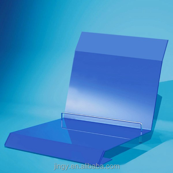 manufacturer blue acrylic mobile computer display