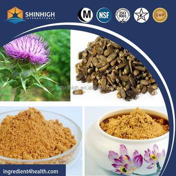 Milk Thistle Extract Powder 80% Silymarin in Bulk