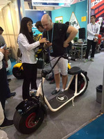 Factory fat tire with removeble seat 1000w electric scooter evo china seadoo sea scooter