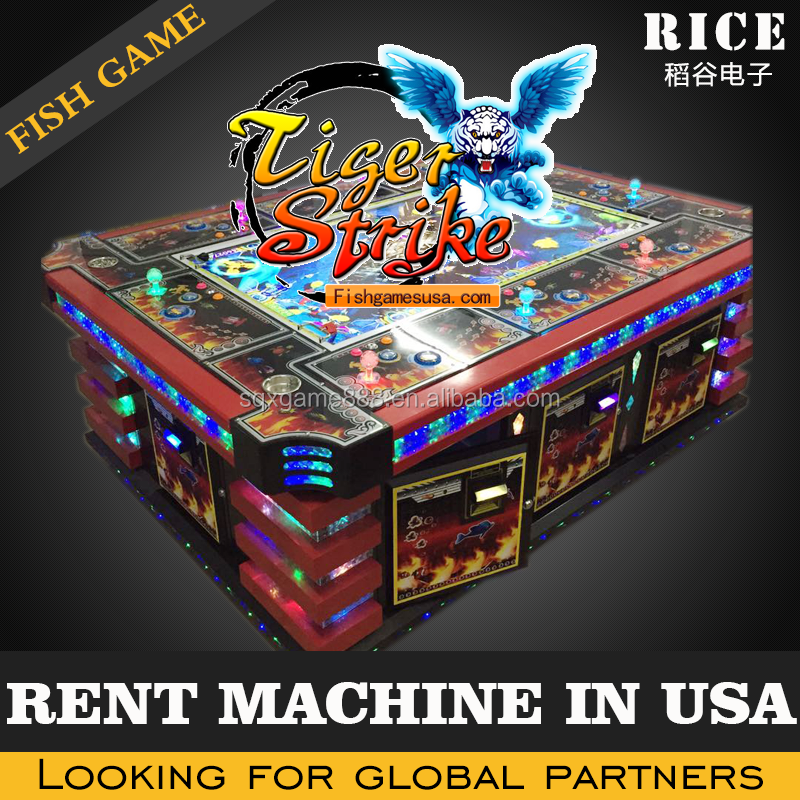 2016 hot sell in USA tiger strike fishing game machine/ocean king 2 ocean monster fish hunter arcade games