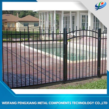 China Supplier Wholesale Custom Designed Aluminium Garrison Fence Panels for Garden Fencing, Aluminium Swimming Pool Fencing