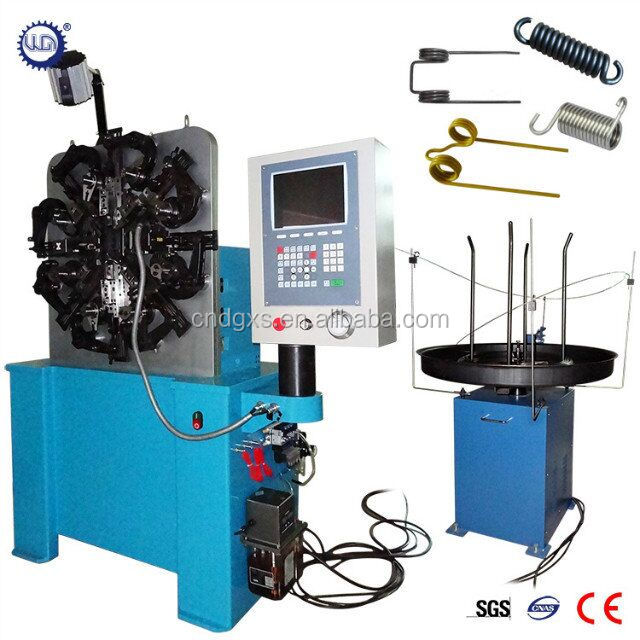 New design CNC torsion Spring Forming Machine
