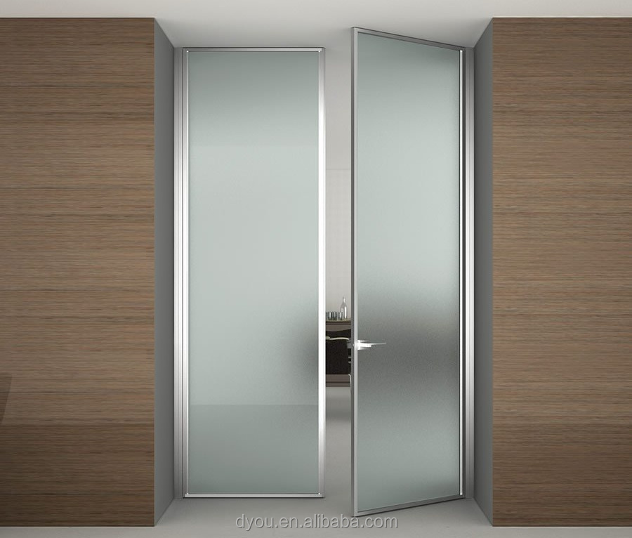 China wholesale factory price aluminium interior doors - Interior doors with frosted glass inserts ...
