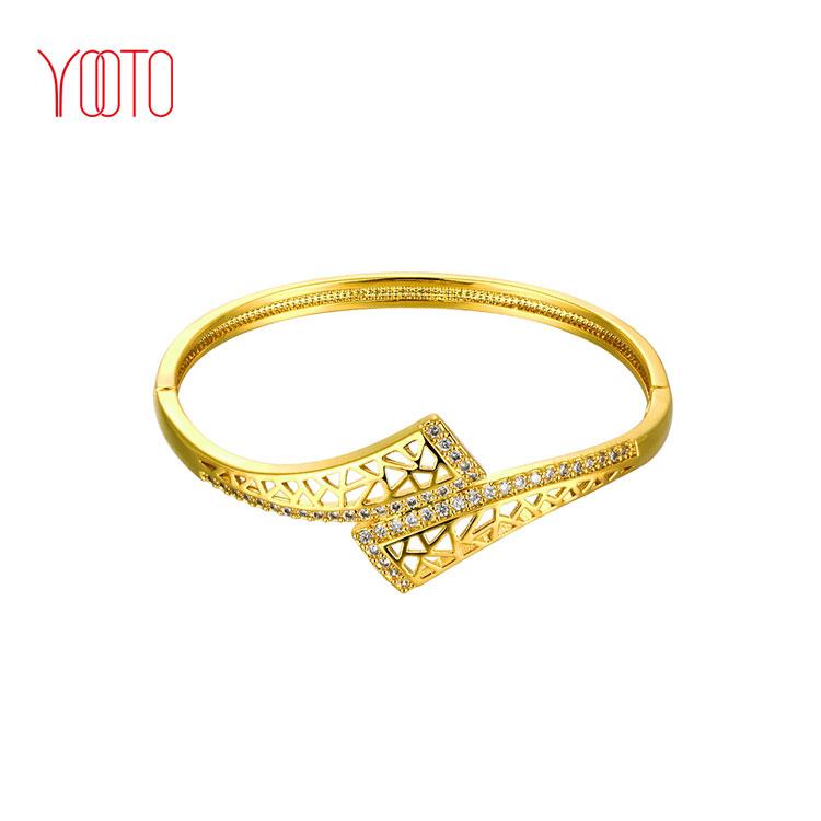22k Bracelet Saudi Arabia Gold Bangles Designs