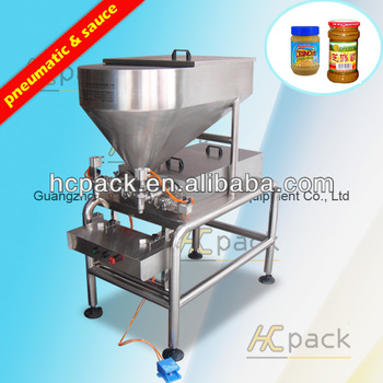 Semi-automatic Peanut sauce filling machine