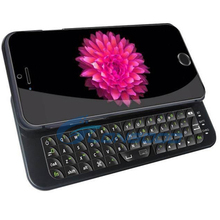 New Sliding Bluetooth Wireless Keyboard cover for iPhone 6 4.7""