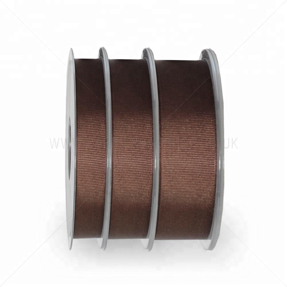 Free Samples Wholesale Brown Chocolate Ribbon