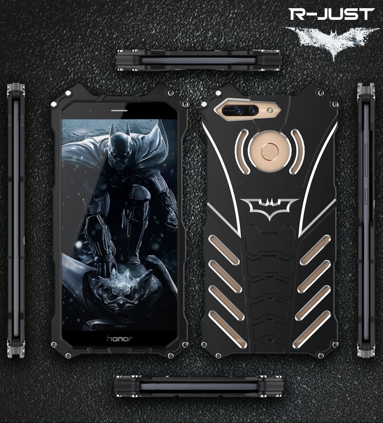 R-JUST Best batman Metal cover phone accessories mobile case Shockproof Ironman Protect for Glory V9
