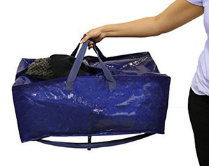 large waterproof coated polyester closet storage bag