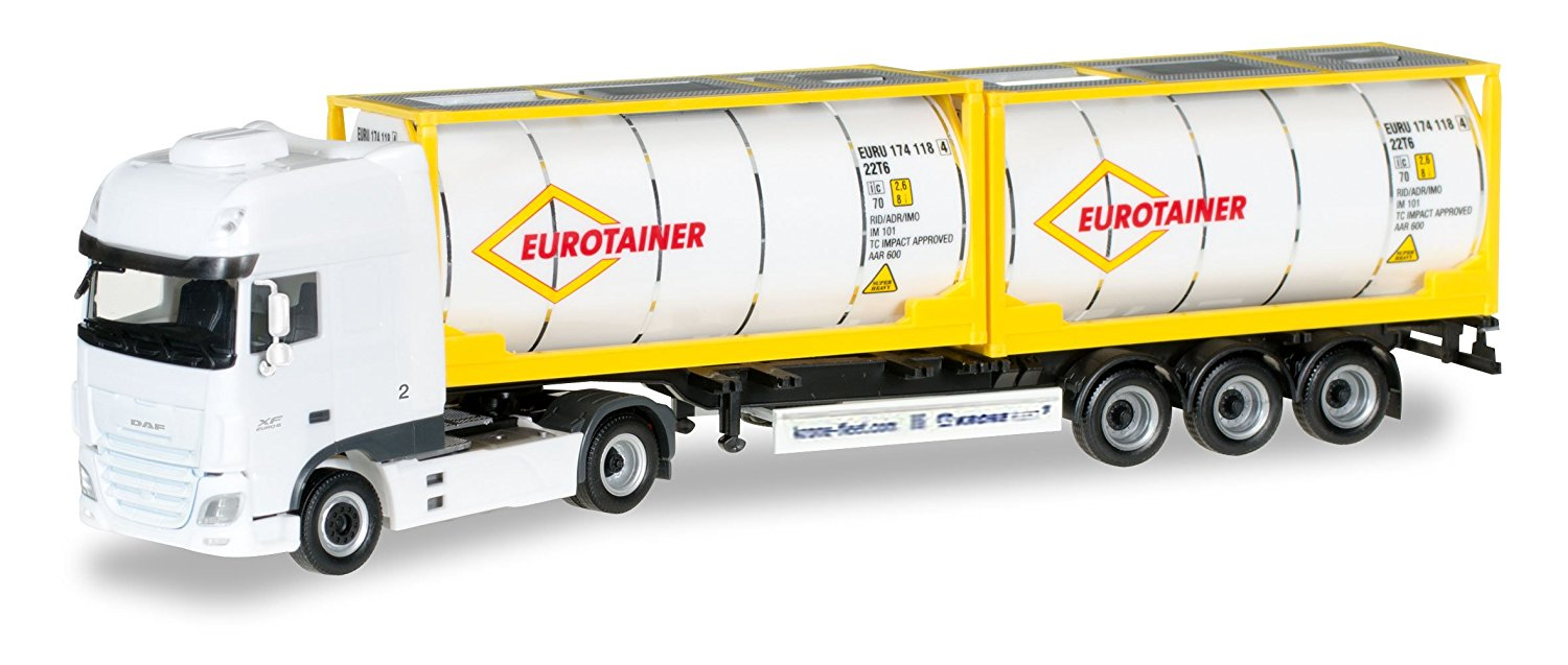 Buy DAF XF Euro 6 SSC, Eurotainer, 0, Model Car, Ready-made