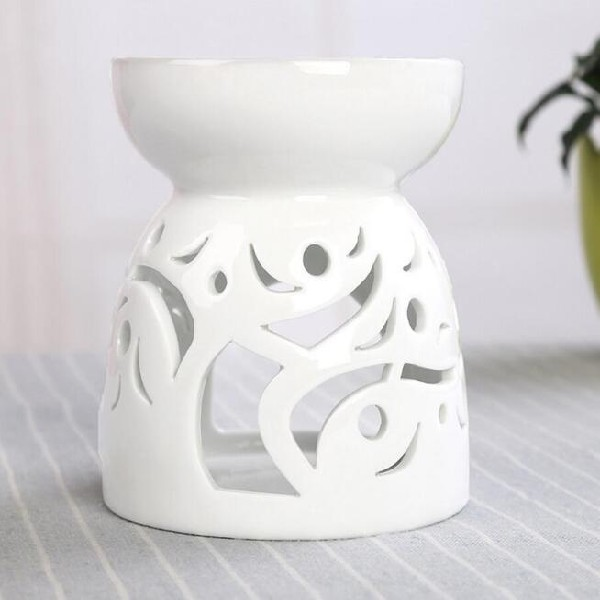 tealight candle arabic incense white ceramic burner holder mini incense with cheap price