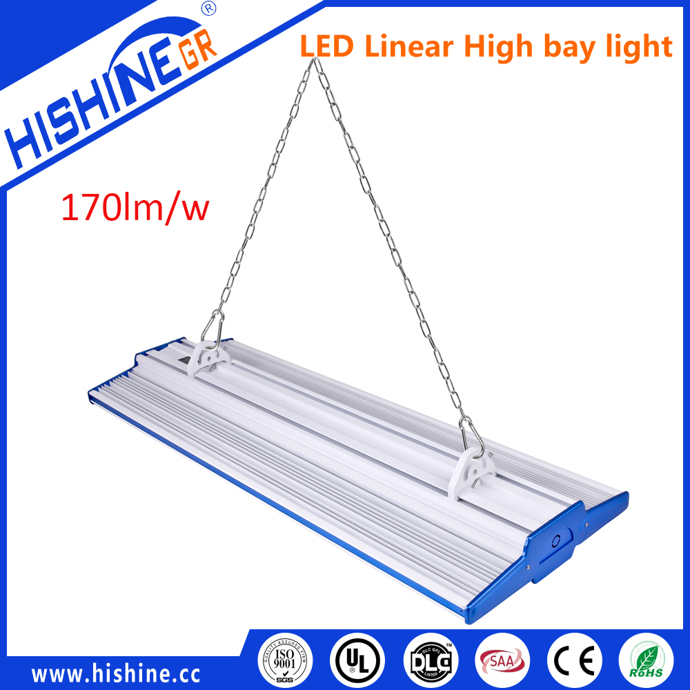 New industrial LED high bay,linear pendant high bay , HiPanel series linear high bay with 7 years warranty