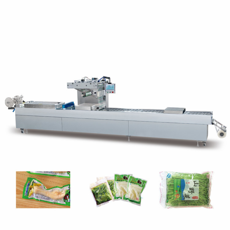 Full Automatic Stretch cheese Vacuum packing machine/thermoforming packing machine