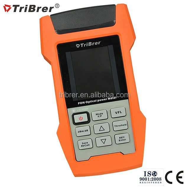 Tribrer Brand PON Fiber Optic Power Meter AOF500, Fiber Optical Power Meter PON