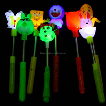 OEM vinly animale LED colore chiaro cambiare figura di plastica in pvc cartoon figura glow