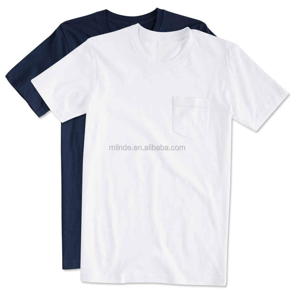Wholesale Bulk Plain White T Shirts China Custom Printing Beefy Pocket 100% Pre-shrunk Ringspun Cotton T-Shirt For Men