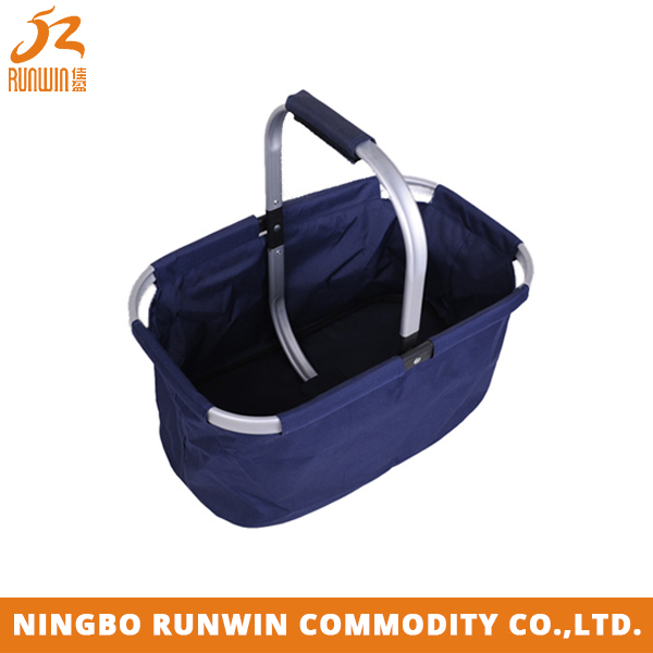 SGS Certification Blue Fashionable mini picnic basket