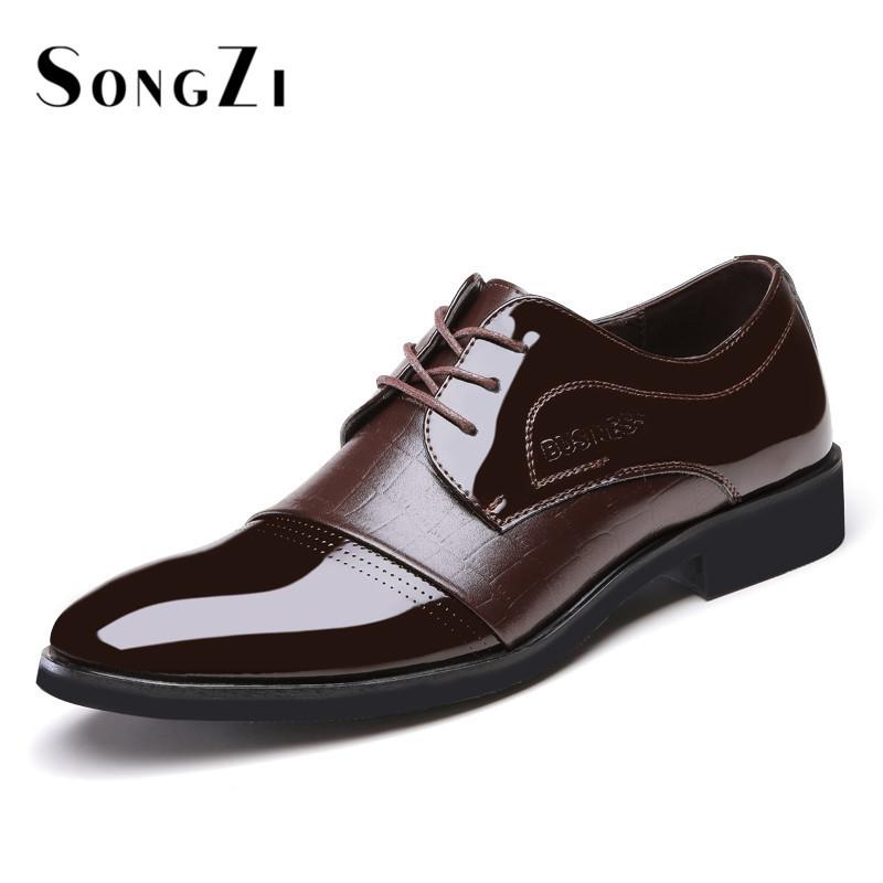 Men Italian Dress Shoes 40