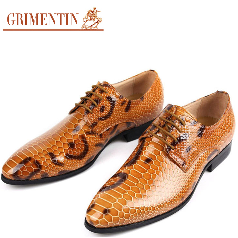 Real Snake Leather Shoes